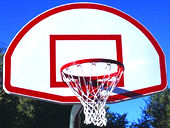 Basketball Equipment -- Aluminum Backboard