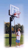 Basketball equipment, residential basketball, basketball posts, backboards