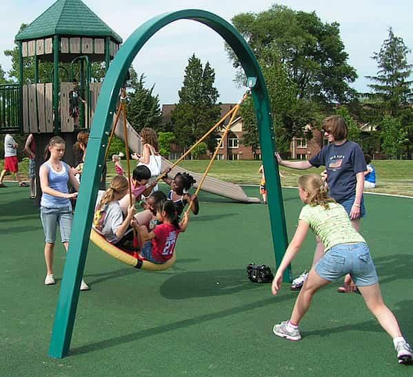 biggo solo swing set for your playground