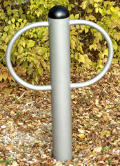 Bike Rack :: 2 Loops :: Playground Equipment