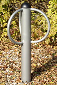 Bike Rack :: 3 Loops :: Playground Equipment