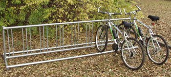 Bike Rack :: Double :: Playground Equipment