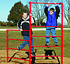 Fitness equipment - playground stall bar fence