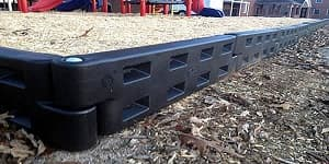 check out these plastic borders for your playground or garden