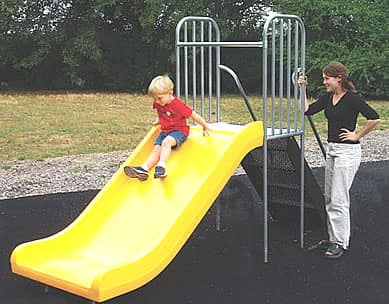 playground unit slide