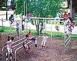See saw, seesaw - playground climbing equipment