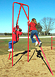 Fitness equipment - playground pole climb