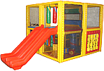 indoor contained play structures
