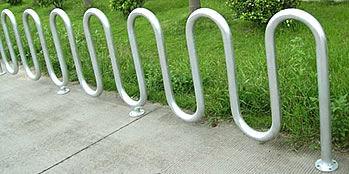 bike racks are available with 7 loops or 5.