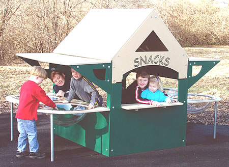 Special needs playground equipment - Snackshop Sand and Water Table
