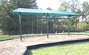 Shades and shade structures - playground equipment