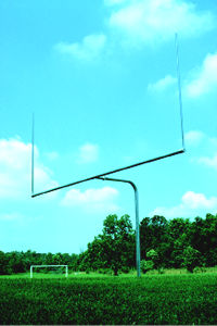 single post football post