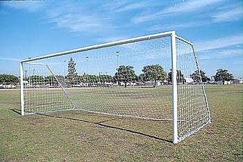 Soccer goal, sports equipment, playground equipment