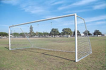 soccer goal post for the playground