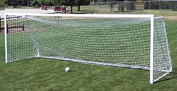 Soccer goal, sports equipment, playground equipment