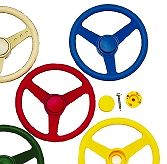 Residential Playground Parts - Racer Steering Wheel