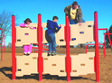Parallel climber - playground climbing equipment