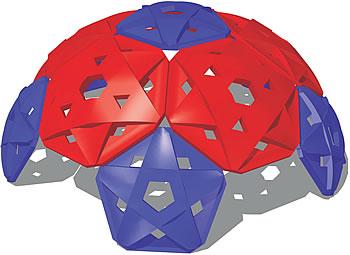 Geodesic dome climbers - tortoise climbers - playground equipment