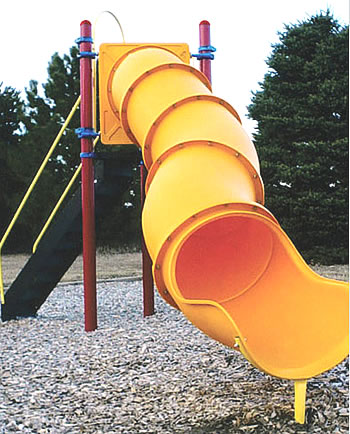 Freestanding Tunnel Tube Slide