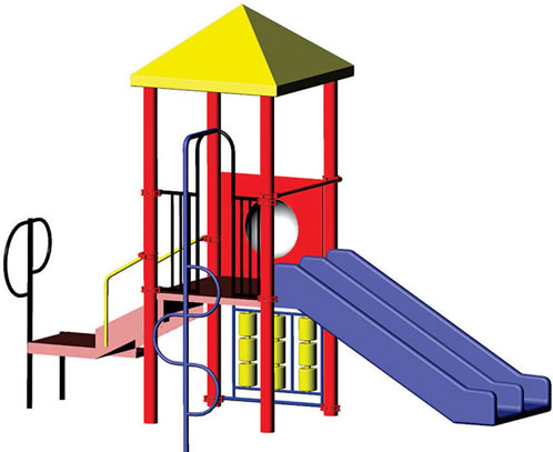 Play structure minnie playground equipment usa for Indoor play structure prices