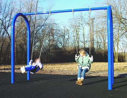 arch post swing sets