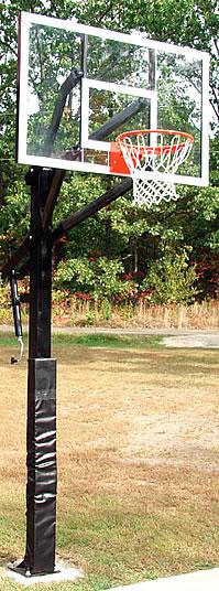Adjustable basketball goals