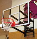 Basketball equipment, wall mounted basketball set