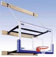 Commercial Basketball Systems - Wall Mounted Systems - SuperMount