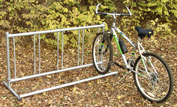 Bike Rack :: Single :; Playground Equipment
