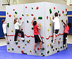 freestanding indoor climbing walls