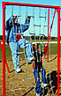 Fitness equipment - playground boarding net