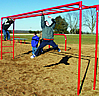 Fitness equipment - playground horizontal ladder