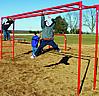 Fitness equipment - playground horizontal ladder