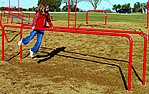 Fitness equipment - playground parallel bars