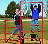 Fitness equipment - playground stall bar fence