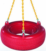 Swing parts, swingparts, swingset parts, Plastic Tire Swing - Plastisol Package
