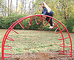 See saw, seesaw - playground climbing equipment