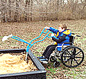 Sandboxes and sand boxes - ADA Sandbox Diggers - Playground Equipment