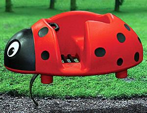special needs ada ladybug spring toy