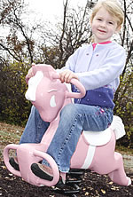 Spring animals, spring toys, spring riders - pony - playground equipment