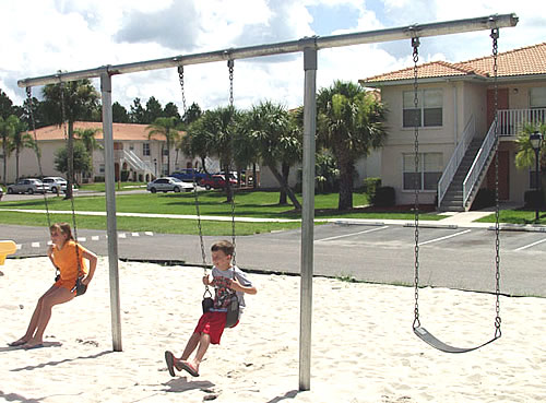 Heavy duty T swing - Swingsets - Playground Parts and Equipment