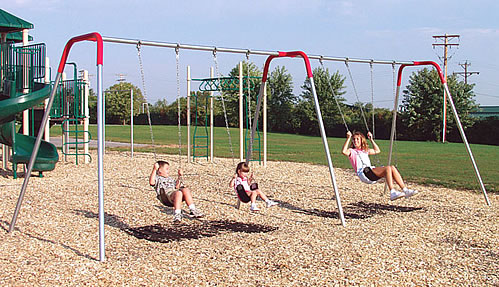 Swing, swingsets, commercial swingset, playground equipment