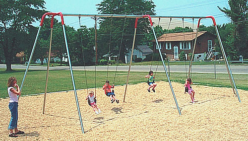 Swings - Heavy Duty Modern Swingset - Playground Parts and Equipment