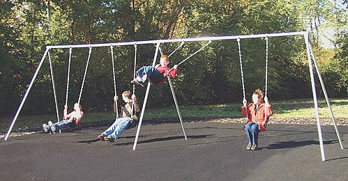 Primary Bipod Swingset - Swingsets - Playground Parts and Equipment