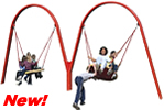 commercial swing sets