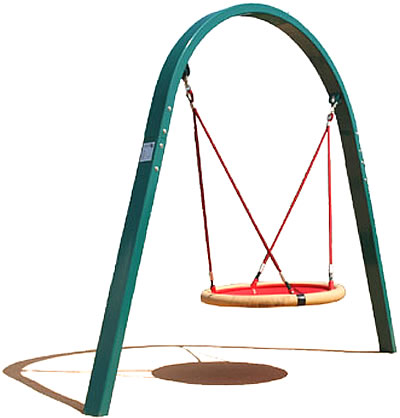 Swings - Arch Post Swing - Playground Parts and Equipment