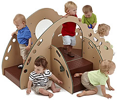 play structures for toddlers :: crawl 'n' toddle