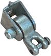 Swing parts, swingparts, swingset parts, Swing hanger with clevis for wooden structures.