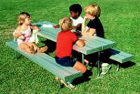 kid size picnic tables