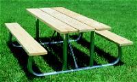 Picnic Table :: Heavy Duty Picnic Table